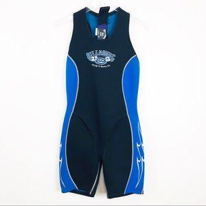 Billabong Black Blue Wetsuit Size 12